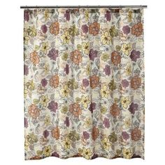 guest bath...shower curtain
