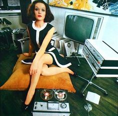 Retro Hi-Fi Girl, Prinses (Dutch) March 1969