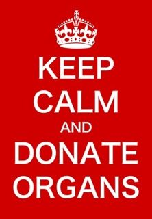 save a life, be an organ donor [CHECK!] You don't need your organs when you are no longer living. You can save/change so many people.