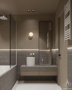 VEUS on Behance Bathroom Toilets, Washroom, Interior Design Brief, Muji Home, Mid-century Modern, Contemporary, Bathroom Design Luxury, Stone Mosaic, Visual Effects