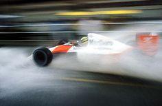 "8,951 mentions J'aime, 34 commentaires - Car&Vintage® (@car_vintage) sur Instagram: ""• What do you think about it Charlie Whiting? McLaren-Honda MP4/5B Driver Ayrton Senna in Monaco…"""