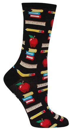 6a8015e0834 Teacher Socks Colorful Socks, Crazy Socks, Fashion Plates, Sock Shoes,  Spandex,