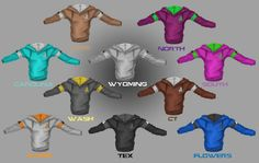 Freelancer hood AWESOME!!! I want them all. Except South's I don't like the color or her in general.