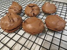 Flourless Deep Dark Chocolate Cookies-roll in powdered sugar before baking for a prettier cookie