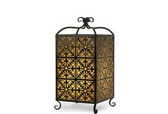 "Adonia Table Lantern on OneKingsLane.com; 18.5""H x 10.25""W x 10.25""; $59"