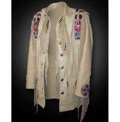 Suede Leather Jacket, Vintage Leather Jacket, Leather Men, Cowhide Leather, Leather Fringe, Beige Outfit, Italian Leather Jackets, Look Zara, Fringe Jacket