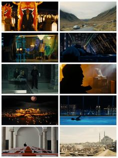Skyfall - Roger Deakins The best cinematography of all Bond movies.