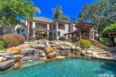 Rock swimming pool in Granite Bay California