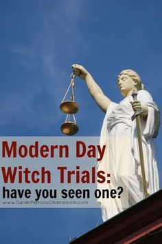 Modern day witch trials are seeing a resurgence, maybe you've noticed?