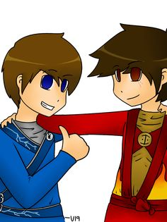 Jay and Kai by Venomari19.deviantart.com on @deviantART