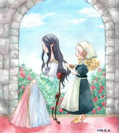 Arwen and Elanor by solalis1226.deviantart.com on @deviantART