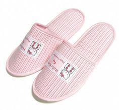 Hello Kitty Travel Slippers Inflight In doors
