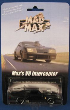 Mad Max Interceptor Custom Ford Falcon XB Hot Wheels