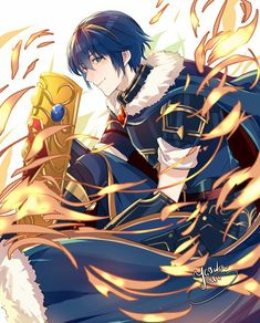 Legendary Marth Fire Emblem Awakening, Fire Emblem Marth, Fire Emblem Radiant Dawn, Shadow Dragon, Nintendo Characters, Nintendo Games, Fire Emblem Characters, Blue Lion, Fanarts Anime
