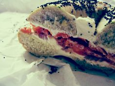 The best bagel in LA by a mile. Best sandwich there, the New Yorker @ Goldstein's Bagel Bakery.
