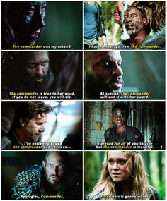 Clarke is the only one who calls Lexa by name || Clarke Griffin and Commander Lexa || The 100 || Eliza Taylor and Alycia Debnam Carey || Clexa