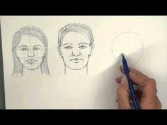 Portrait Drawing Course: Part 2 - Proportions