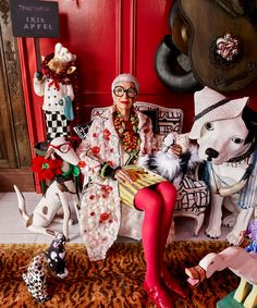 Icon Iris Apfel via How To Spend It | The English Room