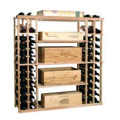 Wine Cellar Racks: Wood Case Display - Buy Wine Crates like these!