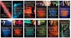 Sherrilyn Kenyon Books - my favourite author!