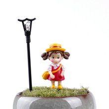 5 Pçs/set Miniaturas Mini Bonito Resina Artesanato Ornamento Do Jardim de Fadas Em Miniatura Para Decoração de Casa(China (Mainland))