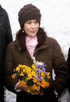 Princess Mary, June 23, 2005 in Susanne Juul