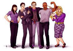 Criminal Minds FanArt: Happy Days by NinaKask on deviantART