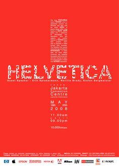 30 idéias de posteres tipográficos   Criatives   Blog Design, Inspirações, Tutoriais, Web Design