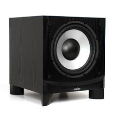 Make your music, games and movies thunder. The Energy ESW-C10 subwoofer provides the power you've been missing. With 400 booming watts, you'll hear and feel bass the way it's meant to be experienced.