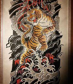 BestTattooArt (@besttattooartjapan) • Instagram photos and videos Tiger Tattoo, Irezumi, Tattoo Designs, Tattoo Ideas, Goku, Tribal Tattoos, Tatting, Oriental, Dragon