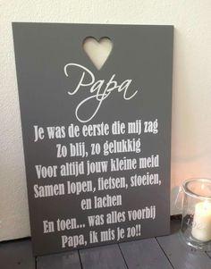 Mijn allerliefste papa ik hou van je voor altijd!