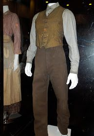 Jeremy Irvine War Horse movie costume. I would be thrilled if vests and trousers like this came back into style.
