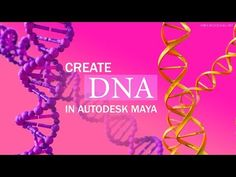 In this tutorial we are going to look at two different ways to model a basic DNA structure in Maya.
