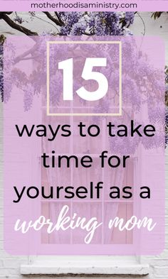 You're a mom—it's okay to take time for yourself. The laundry will still get done, and your children will still love you. We must take care of ourselves before we can effectively take care of others. Moms overlook that part of being the caretaker. We don't schedule in our time alone or carry a self care checklist by our planner. But why not? Making a self care schedule might be the key to helping you. Start with these 15 methods of self-care that will take you 15 minutes or less—I promise! Working Mom Quotes, Working Mom Tips, Christian Encouragement, Encouragement Quotes, Parenting Quotes, Parenting Hacks, Parent Involvement Activities, Article About Family, Raising Godly Children