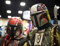 Comic-Con 2011 – Mandalorian Bounty Hunters