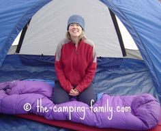 Follow this simple guide on how to stay warm, and have a wonderful sleep on your next camping trip - no matter what the weather does!