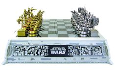 Awesome chess set.  Especially like the red tops on the gold pieces for the rebel alliance pieces.  $599 price tag is a bit steep however = stupid collectability value inflation