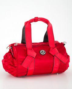 371e6abb1ff3 Lululemon DTB red mini duffle bag Lululemon DTB