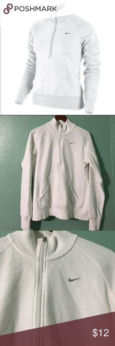 Nike half zip ⚡️⚡️ See this and similar NIKE sweatshirts - Ultra-soft fleece and contoured lines make the Nike Entry Half-Zip Women's Sweatshirt a must-have. No visible stains check my closet for more like this 👍 Nike Sweaters Cowl & Turtlenecks
