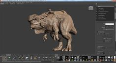 Ptex Painting in Mudbox 2014 Freedom from UV's