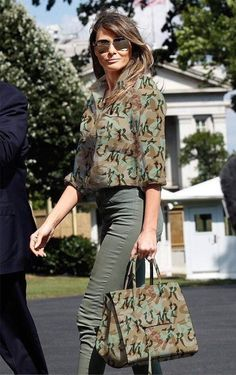 A factor that is really trending on T_D proper now ---- Milania Trump Style, Donald And Melania, Trump Is My President, Merian, First Lady Melania Trump, Looks Cool, Fashion Outfits, Womens Fashion, Fashion Pictures