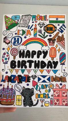 Handmade Thank You Cards, Handmade Birthday Cards, Shrink Art, Card Ideas, Gift Ideas, Bday Cards, Creative Video, Sewing Hacks, Cute Gifts