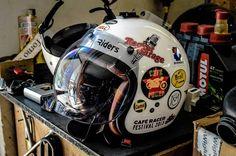 #soiattimotoclassiche #bell #helmet #riders #caferacer