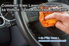 astuces pour nettoyer l'intérieur de la voiture