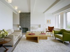 Central Park West Open-plan Residence Shelton Mindel architects--