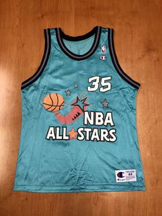 ba182af8ae8c Vintage 1996 Grant Hill NBA All Star Game Champion Jersey Size 44 scottie  pippen shaquille o
