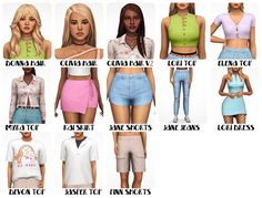 Mods Sims, Sims 4 Mods Clothes, Sims 4 Clothing, Sims Four, Sims 4 Mm Cc, Sims 4 Gameplay, Sims 4 Collections, Sims4 Clothes, Play Sims