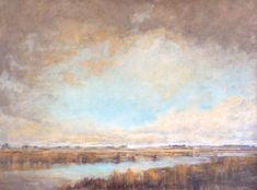 """Twilight"" oil on canvas 36x48"""