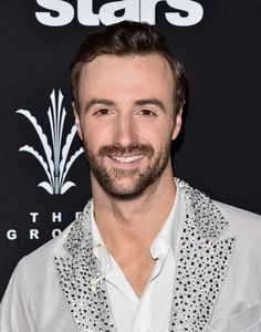 """James Hinchcliffe Photos Photos - Professional race car driver James Hinchcliffe attends ABC's """"Dancing With The Stars"""" Season 23 Finale at The Grove on November 22, 2016 in Los Angeles, California. - ABC's 'Dancing With The Stars' Season 23 Finale - Arrivals"""