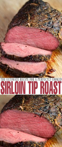 Cook a perfect sirloin tip roast with this recipe each and every time. Juicy, full of flavour and cooked to perfection, you can't go wrong with an herb…